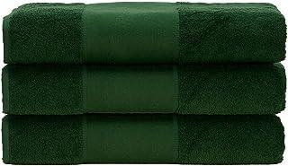 comprar comparacion A&R Towel Print-Me - Toalla de Mano, Color Verde Oscuro, Talla única, 50 x 100 cm