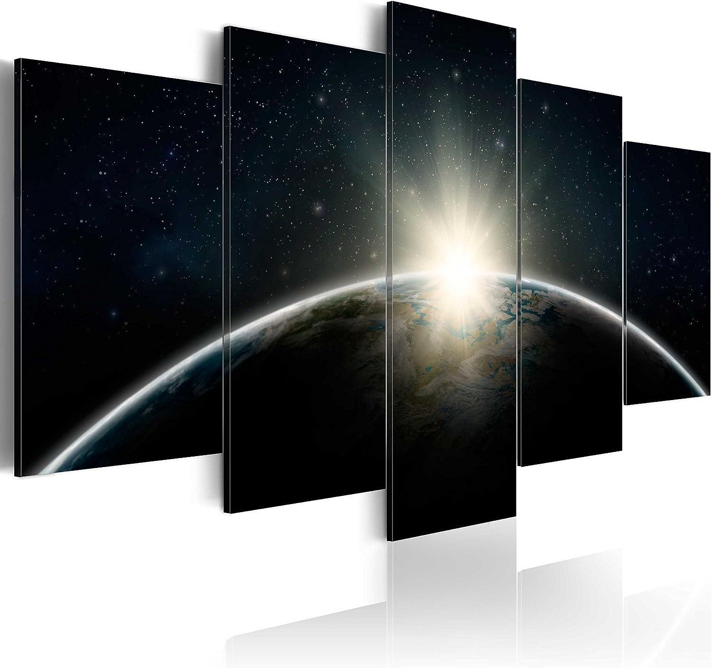 Murando - Bilder 200x100 cm cm cm Vlies Leinwandbild 5 TLG Kunstdruck modern Wandbilder XXL Wanddekoration Design Wand Bild - Erde Earth f-A-0089-b-m B00UVNTJCG 0d99ca