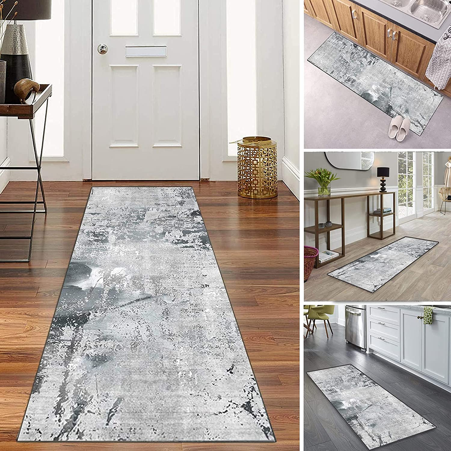 Aiwoqing Hallway Runner Rugs with Washab Department store Ranking TOP7 Non Rubber Backing Skid