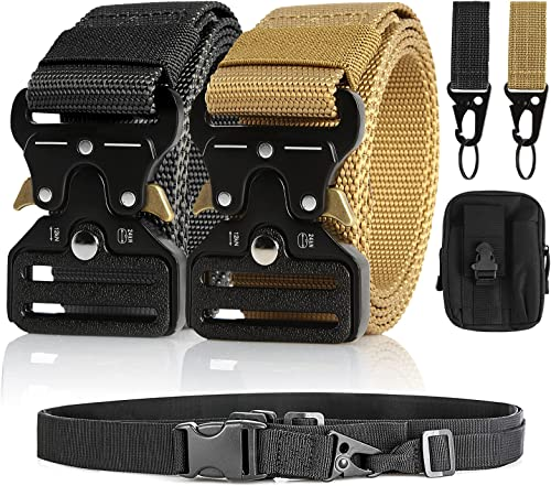 """discount Tactical discount Belt, 1.5"""" Military Belt Rigger Nylon Webbing Belt, high quality Molle Pouch & Hook sale"""