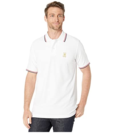 Psycho Bunny St Lucia Polo (White) Men