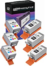 Speedy Inks Compatible Ink Cartridge Replacement for Canon BCI-15 and BCI-16 (3 Black, 3 Color, 6-Pack)
