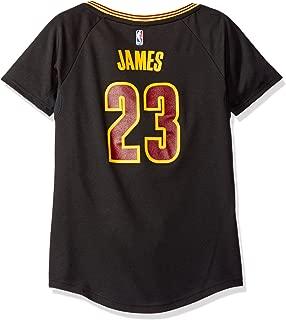 NBA Cleveland Cavaliers LeBron James #23 Women's Pride Replica Jersey, Medium, Black