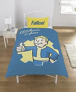 Fallout Vault Boy UK Single/US Twin Unfilled Duvet Cover Set