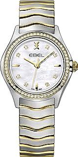EBEL Ladies 1216351 Wave 18K Gold & Steel Swiss Quartz Watch