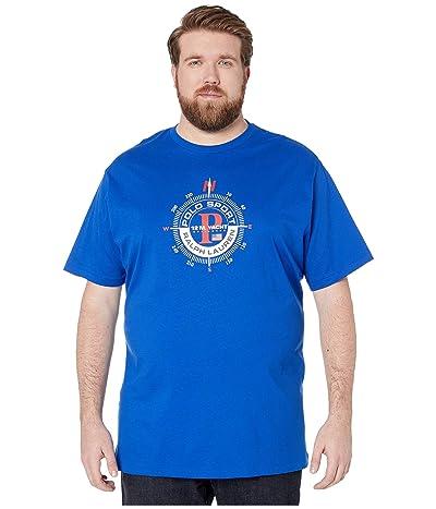 Polo Ralph Lauren Big & Tall Big Tall Short Sleeve T-Shirt (Sapphire Star) Men