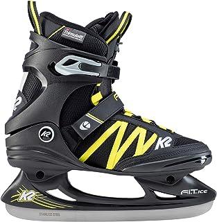 K2 Fit Ice Pro 25B0002.1.1 - Patines de Hielo para Hombre, Color Negro y Azul