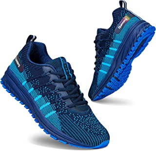 Men Women Running Shoes Air Cushion Sports Trainers Breathable Lightweight Sneakers for Walking Gym Jogging Fitness Athlet...