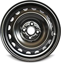 Road Ready Car Wheel For 12-19 Toyota Prius Yaris 15 Inch 4 Lug Steel Rim Fits R15 Tire - Exact OEM Replacement - Full-Size Spare