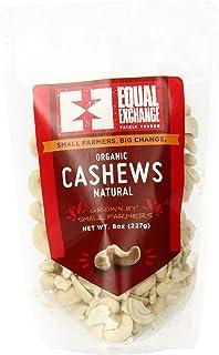 Equal Exchange Organic Natural Cashews, 8 Ounce