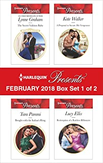 Harlequin Presents February 2018 - Box Set 1 of 2: The Secret Valtinos BabyBought with the Italian's RingA Proposal to Secure His VengeanceRedemption of a Ruthless Billionaire