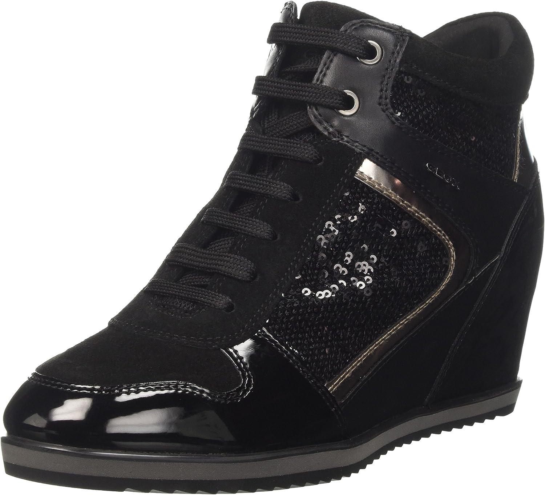 Geox Women's D Illusion B Sneakers