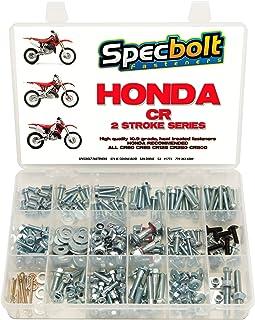 Specbolt Fasteners 250pc Maintenance Restoration OE Spec Motorcycle Bolt Kit for Honda CR 2 Stroke MX Dirtbike CR80 CR85 CR125 CR250 CR500