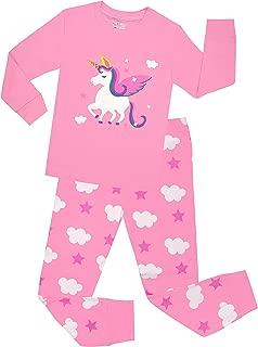 Little Girls Horse Pajamas Set Children Christmas PJs...