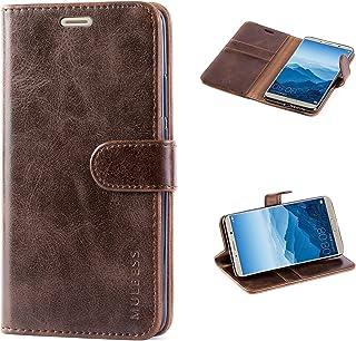 comprar comparacion Mulbess Funda Huawei Mate 10 Libro Caso Cubierta Vintage de Billetera Cuero con Tapa Magnética Carcasa para Huawei Mat...