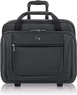 Solo Bryant 17.3 Inch Rolling Laptop Case, Black (Black) - PT136-4