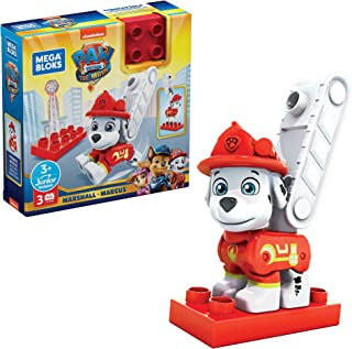 Mega Bloks PAW Patrol Adventure City Pups Assortment, Building Toys for Kids 3 Years & Older GYH89