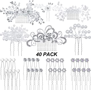 Best bridal hair side comb Reviews