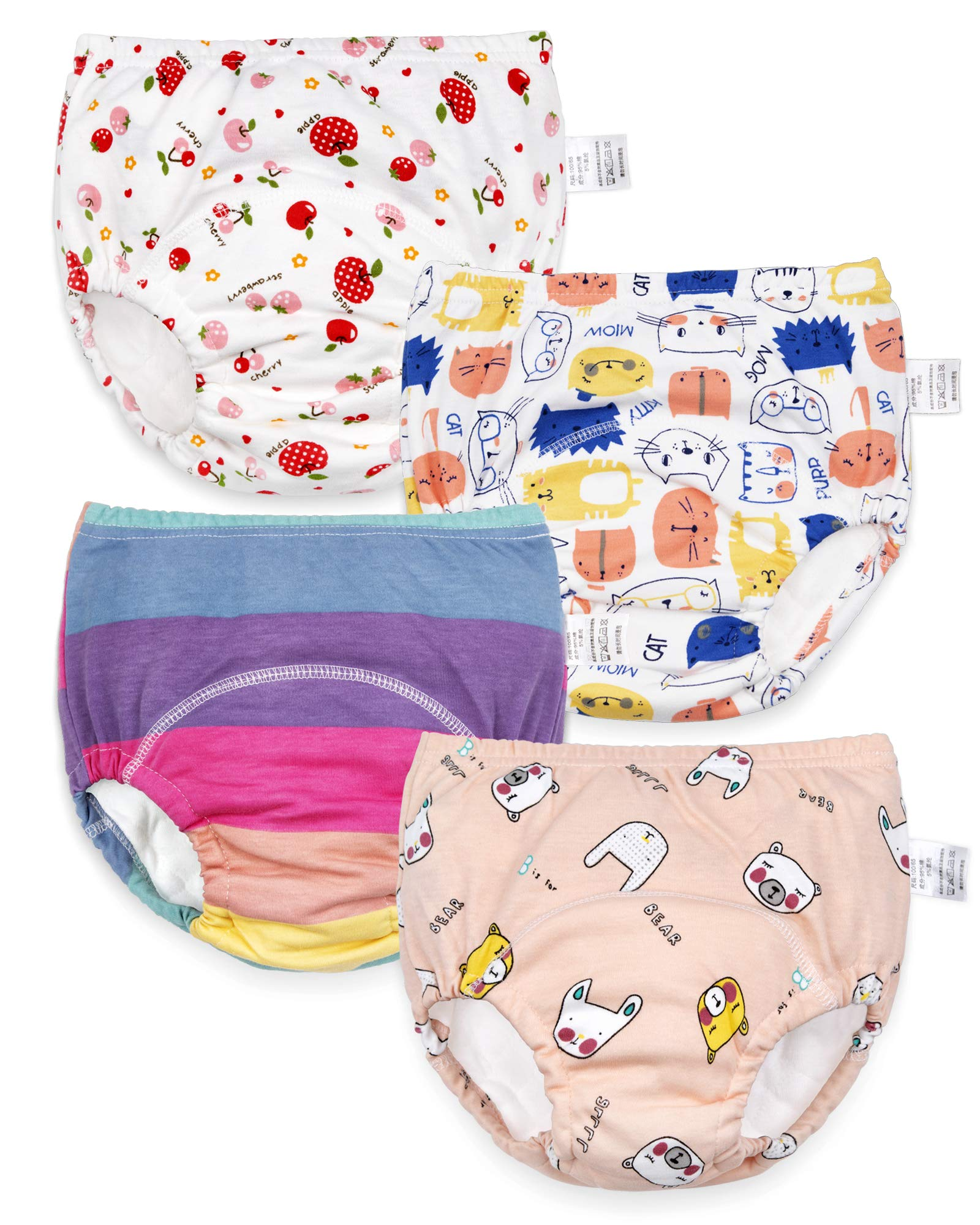 Max Shape 6 Pack Baby Girl Boy Toliet Pee Potty Training Pants Diaper Nappy Underwear
