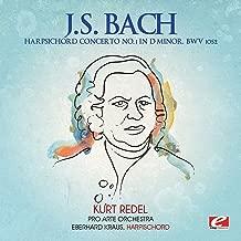 J.S. Bach: Harpsichord Concerto No. 1 in D Minor, BWV 1052 (Digitally Remastered)