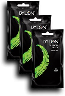 DYLON Tropical Green Hand Fabric Dye 3 Pack
