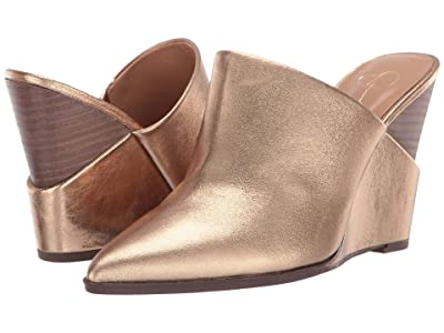 Jessica Simpson Heilo (True Gold Metallic Gala Leather) Women
