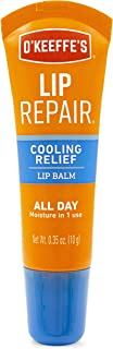 O'Keeffe's Cooling Relief Lip Repair Lip Balm, .35 ounce Tube