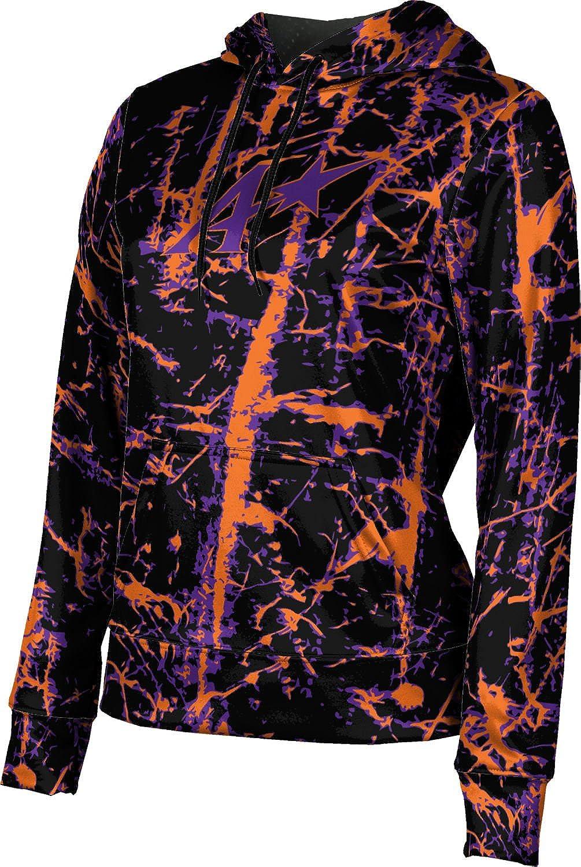 ProSphere University of Evansville Girls' Pullover Hoodie, School Spirit Sweatshirt (Distressed)
