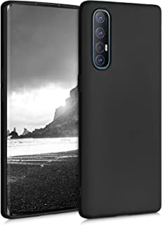 kwmobile TPU Case Compatible with Oppo Find X2 Neo - Case Soft Thin Slim Smooth Flexible Protective Phone Cover - Black Matte