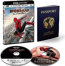 【店舗限定特典あり】スパイダーマン:ファー・フロム・ホーム 4K ULTRA HD & ブルーレイセット(初回生産限定) [4K ULTRA HD + Blu-ray] (特製パスポート・メモブック付き) (75mm缶バッジ3個セット付き)