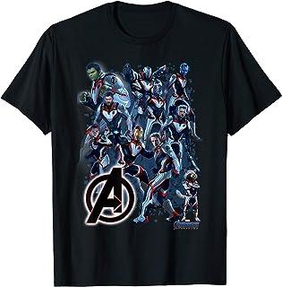 Marvel Avengers Endgame Suit Group Shot Graphic T-Shirt