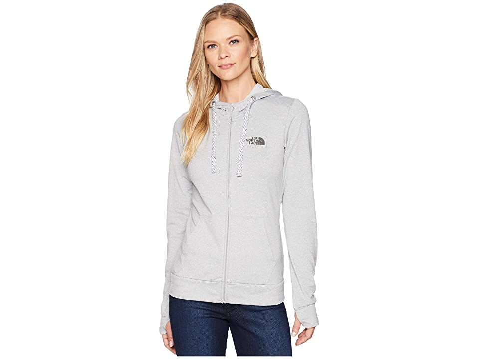 The North Face Fave Lite LFC Full Zip (TNF Light Grey Heather/Asphalt Grey) Women