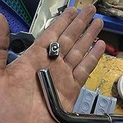 Multiware Radmutternschlüssel Mit 2 Einsätzen Radschlüssel Teleskop Schlüssel Für Radmuttern 17 19 21 Und 23 Mm Auto