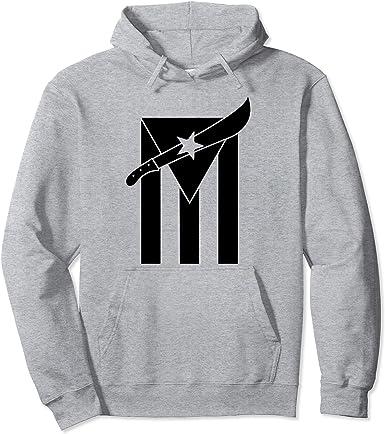 Puerto Rico Se Levanta Mens Full-Zip Hoodie Jacket Pullover Sweatshirt