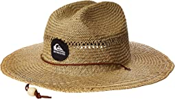 Pierside Slimbot Straw Lifeguard Hat