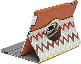 Aduro ROTATA 360 Degrees Rotating Case Cover Folio w/Stand for Apple iPad 2/3 / 4 Generation (Chevron)