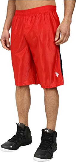 Color Block Dazzle Athletic Shorts
