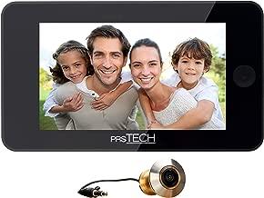 2,4-Zoll-LCD-Monitor T/ürspion T/ürspion Loch Kabelgebundene Viewer-Kamera Video