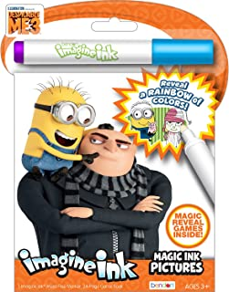 Bendon 41015 Despicable Me 3 Imagine Ink Magic Ink Pictures, Multicolor