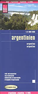 Argentina 1:2,000,000 Travel Map, waterproof, GPS-compatible, 2012 edition REISE
