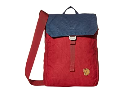 Fjallraven Foldsack No. 3 (Ox Red/Navy) Backpack Bags