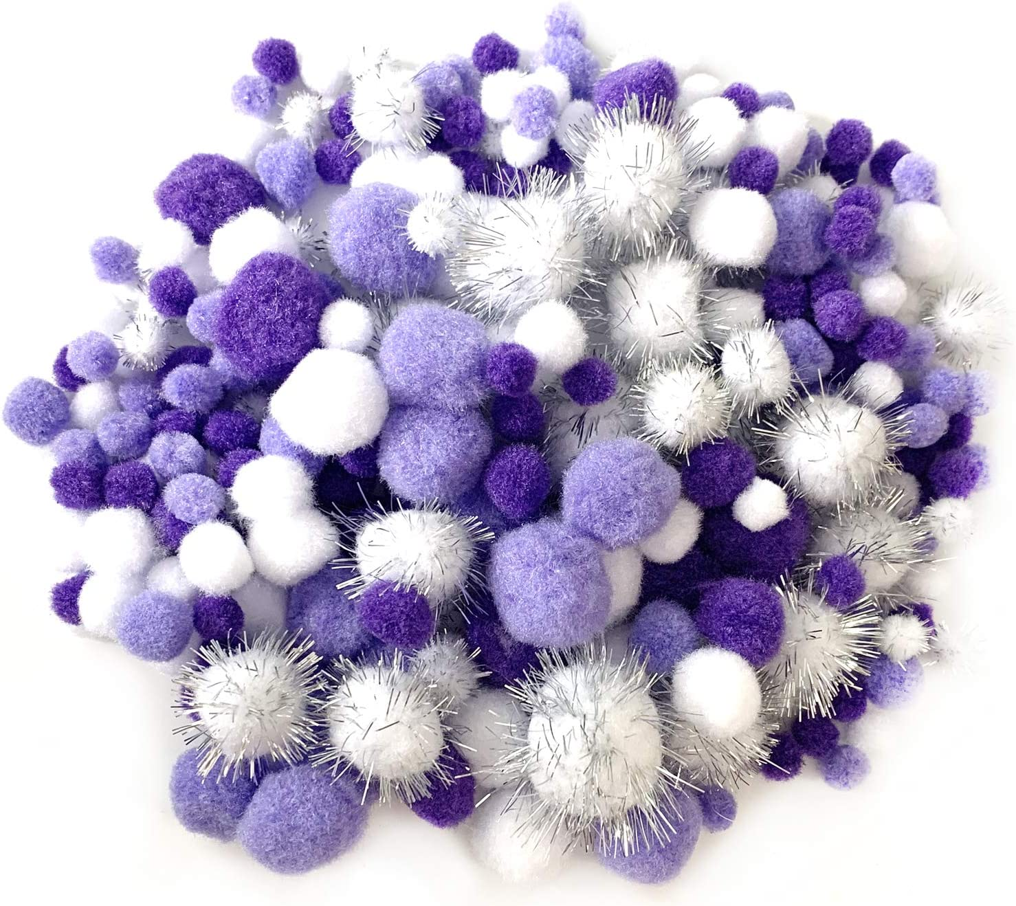 Wartoon Pipe Cleaners Chenille Stem and Pompoms with Googly Wiggle Eyes for Craft DIY Art Supplies 500 Pieces Pipe Cleaners Crafts Set