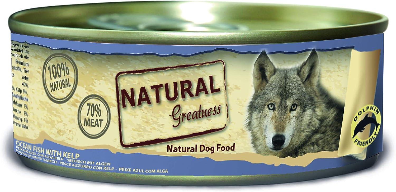 Comida húmeda natural de pescado