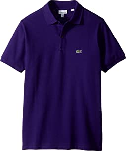 Lacoste Kids - L1812 Short Sleeve Classic Pique Polo (Toddler/Little Kids/Big Kids)