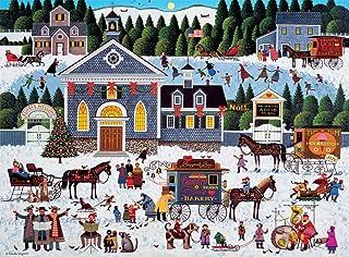 Best Buffalo Games - Charles Wysocki - Churchyard Christmas - 1000 Piece Jigsaw Puzzle Review