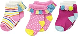 Mud Pie - Summer Fun Socks Set (Infant)