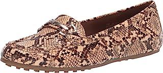حذاء بدون كعب نسائي من Aerosoles بنمط القيادة النهارية، الثعبان الطبيعي، 6. 5