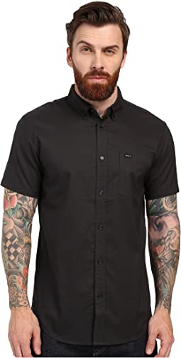 RVCA That'll Do Oxford Short Sleeve Woven