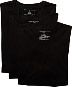 Tommy Hilfiger Cotton Classics Slim Crew Neck 3-Pack