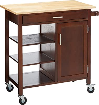 Winsome Marissa Kitchen Cart, Walnut